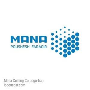 طراحی لوگو شرکت مانا پوشش