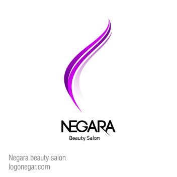 طراحی لوگو سالن زیبایی