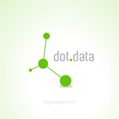 data and net co logo design
