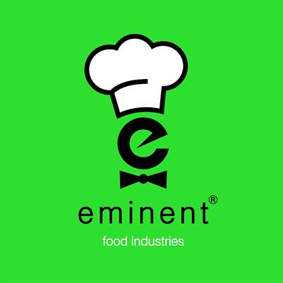 نمونه طراحی لوگو| طراحی آرم شرکت - لوگونگارطراحی لوگو برای صنایع غذایی امیننت. food industries logo
