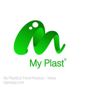 green plastic logo