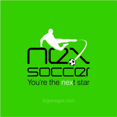 next soccer logo design