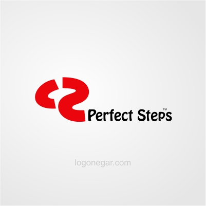 perfect steps logo design