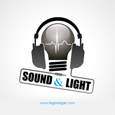 sound & light logo design